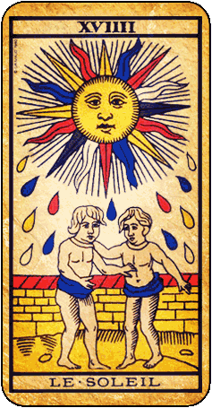 le soleil tarot de marseille